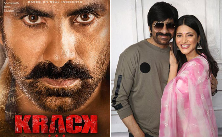 Krack: Ravi Teja, Shruti Haasan Commence Shoot For Their Action Thriller