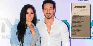 Krishna Shroff Reveals Brother Tiger Shroff's Poetic Side By Posting A Motivating Poem He Wrote When He Was 16