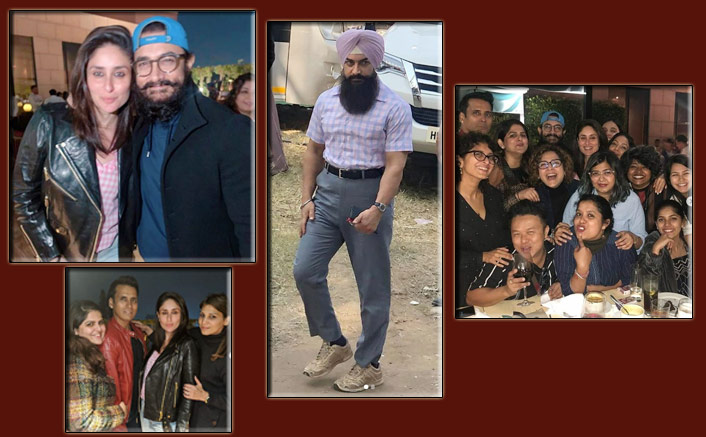 Laal Singh Chaddha: Aamir Khan & Kareena Kapoor Khan Take A Party Break From The Sets Of The Film