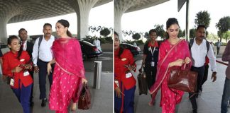 Looking For The Perfect Sangeet Dress? Deepika Padukone's Latest Airport Look Can Be Your Inspiration