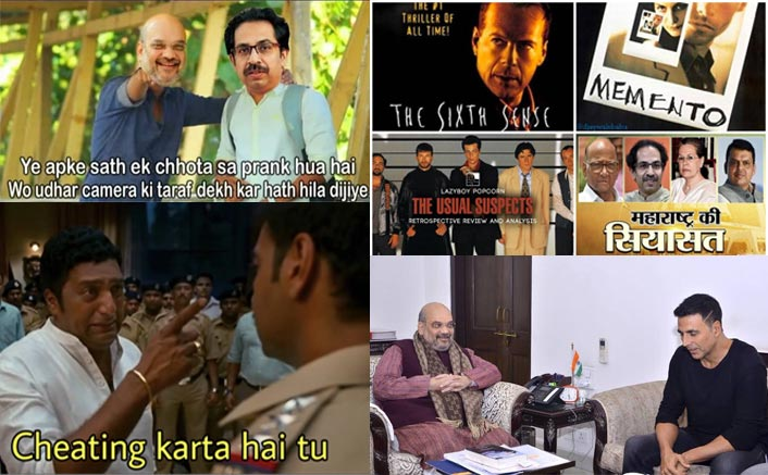 Maharashtra Politics: These 10 HILARIOUS Bollywood Memes Will Make You ROFL