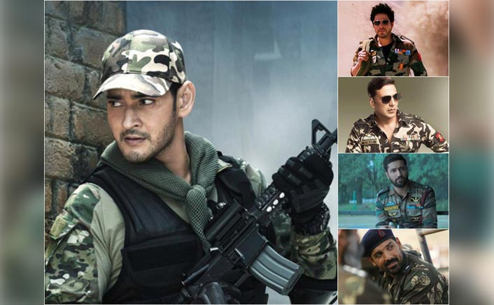From Mahesh Babu In Sarileru Neekevvaru To Shah Rukh Khan In Jab Tak Hai Jaan, Actors Who Aced The Military Look
