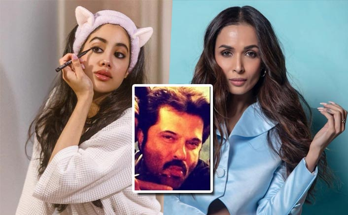 Malaika Arora Doesn't Like Janhvi Kapoor's Winged Eyeliner & Thinks Anil Kapoor Makes The Best Pout