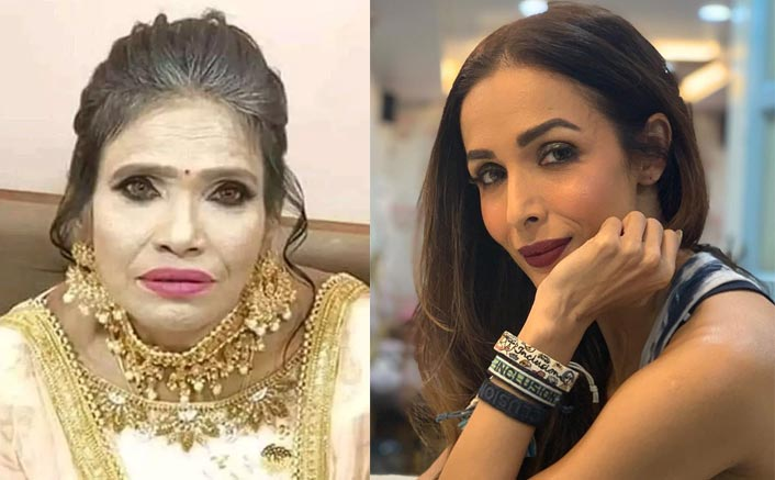 Malaika Arora Gets Trolled For Her Makeup; Fans Compare Her To Ranu Mondal