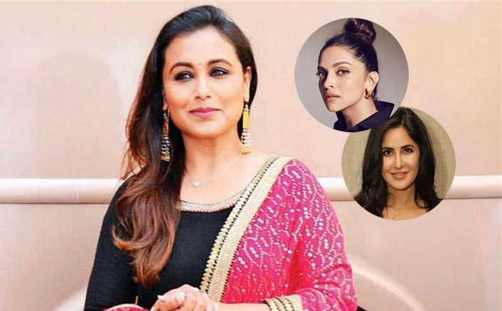 Mardaani Rani Mukerji Wants To Do Charlie's Angels With Katrina Kaif & Deepika Padukone