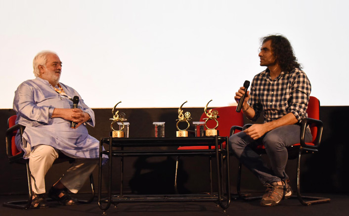 Masterclass by Filmmakers Rahul Rawail and Imtiaz Ali on The contemporary filmmakers of different generations at the ongoing 50th edition of International Film Festival of India (IFFI)