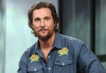 Matthew McConaughey's near-death encounter with a snake