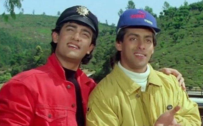 #MondayMotivations 25 Years Of Salman Khan & Aamir Khan Andaz Apna Apna, Here's A Trivia That Many Of You Didn't Know About