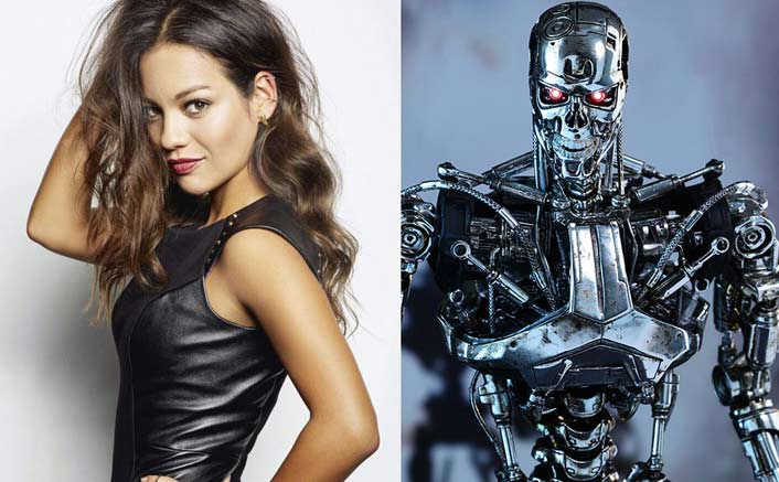 """Natalia Reyes On Working With Arnold Schwarzenegger In Terminator: Dark Fate: """"There's A Lot Of Pressure On Me"""""""