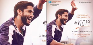 #NC19: Naga Chaitanya's First Look From Sekhar Kammula's Romantic Comedy