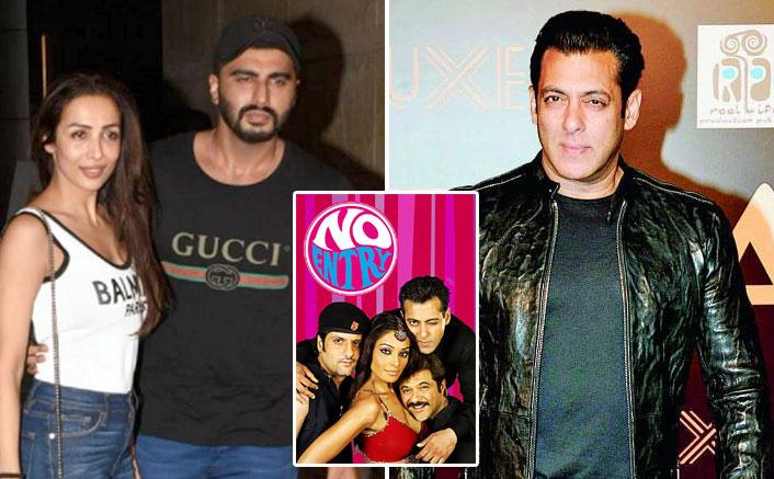 No Entry Sequel: Salman Khan Opts OUT Because Of Arjun Kapoor-Malaika Arora?