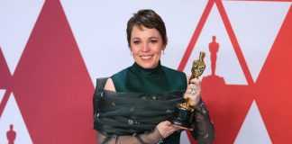Olivia Colman 'can't remember' winning the Oscar