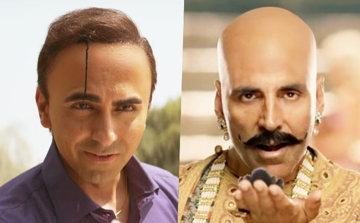 One Bala To The Other: Akshay Kumar Passes The Crown To Ayushmann Khurrana