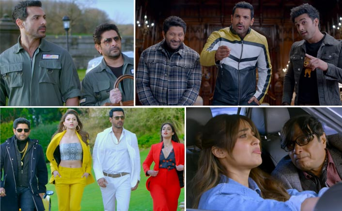 Pagalpanti Trailer 2: John Abraham, Arshad Warsi and Pulkit Samrat Need To Save Themselves From The Hilarious Gangster Anil Kapoor