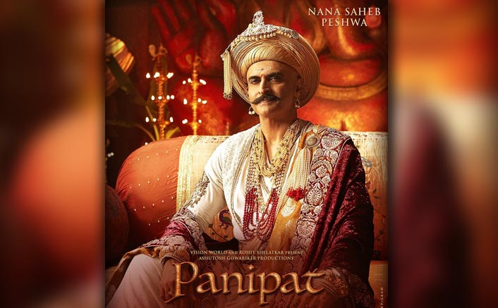 Panipat: Arjun Kapoor Introduces The Charismatic Character Of Monish Bahl Essaying Nana Saheb Peshwa