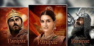 Panipat Posters: Arjun Kapoor, Kriti Sanon and Sanjay Dutt Look All Regal In The Period Drama