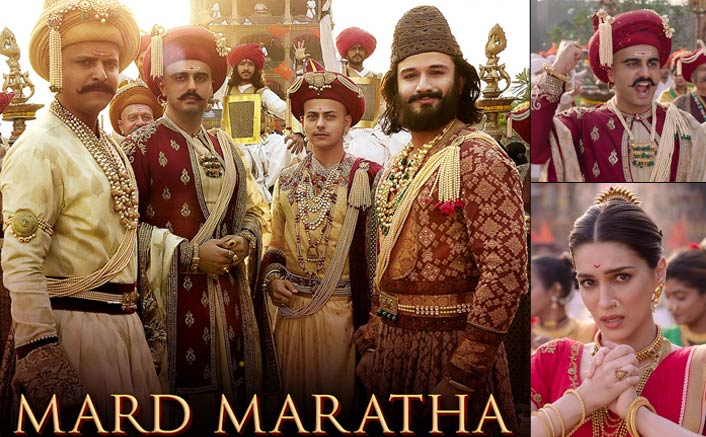 Panipat's First Song - 'Mard Maratha' Depicts Maratha Glory & Legacy