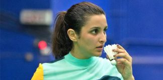 Pari shifts to a sports stadium to live for 15 days for Saina!