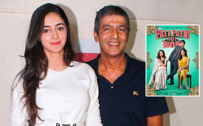 Pati Patni Aur Woh Star Ananya Panday Steals Daddy Chunky Panday's Shirt When She Has Nothing Else To Wear