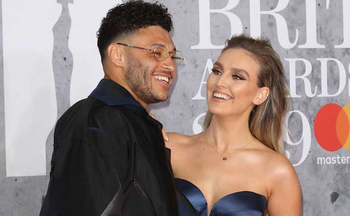 Perrie Edwards hints she is engaged to beau