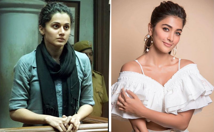 Pooja Hegde To Reprise Taapsee Pannu's Role In Telugu Remake Of Pink?