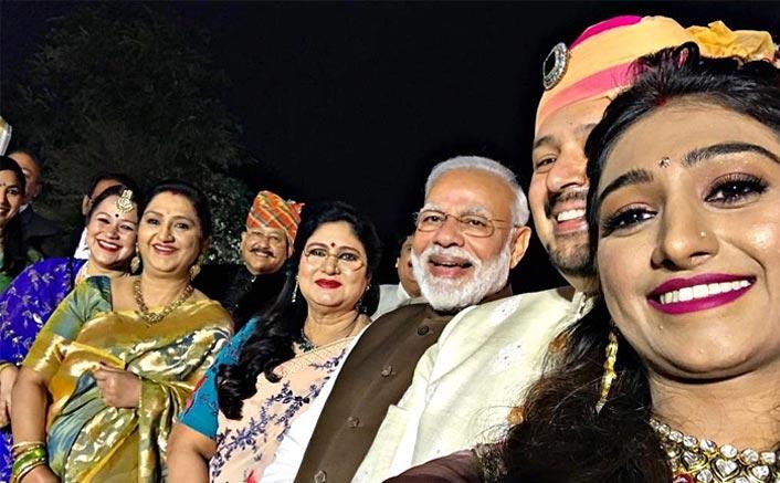 PM Narendra Modi Attends RiMoRav Vlog Member Mohena Kumari's Delhi Reception! Check Out PICTURES