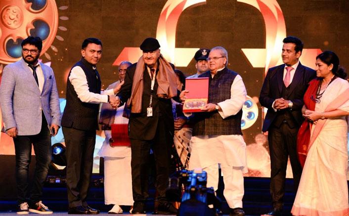 Prem Chopra, Ilaiyaraaja felicitated at 50th IFFI