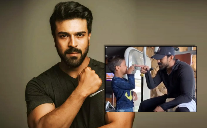 Ram Charan Shares An Adorable & Funny Interaction Video With A Cute Fan