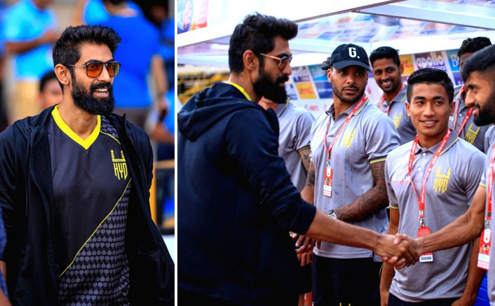 Rana Daggubati happy to meet his ISL team