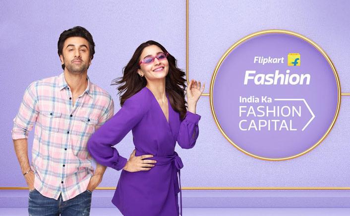 Lovebirds Ranbir Kapoor & Alia Bhatt Reunite For Flipkart's Fashion Campaign!