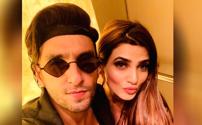 Ranveer Singh calls make-up artist 'bhabhi'
