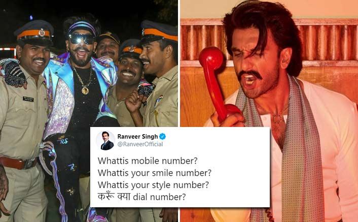 Ranveer Singh Gets A Hilarious Reply From Nagpur Police After He Asks 'What IS Your Mobile Number'
