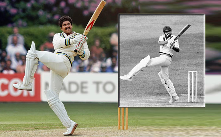 Ranveer Singh Hits The Iconic 'Natraj Shot' As Kapil Dev In This NEW Still From '83