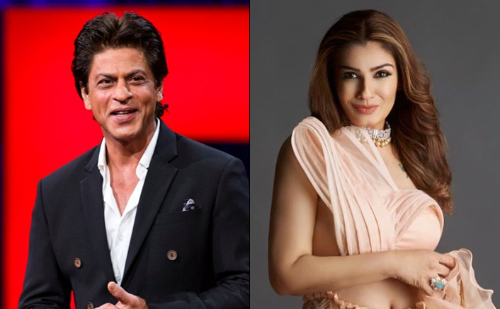 Shah Rukh Khan Would Find Ways To Get Close To Raveena Tandon On Sets; Here's Why