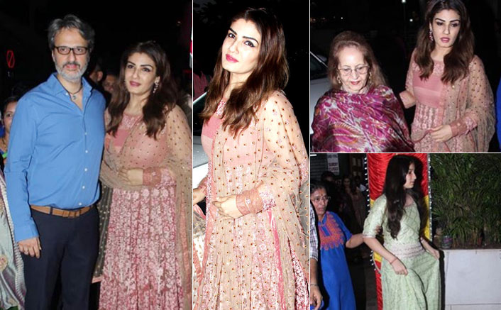Raveena Tandon's Pictures From Her Driver's Wedding Are Going Viral On The Internet