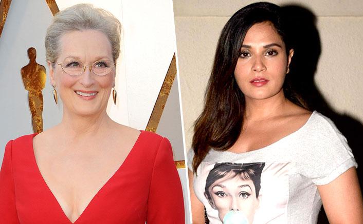 Richa Chadha inspired by Meryl Streep