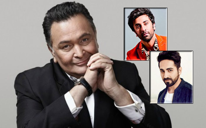 Rishi Kapoor Is All Praises For Ayushmann Khurrana, Ranbir Kapoor & Others For Not Having 'Dole-Shole'
