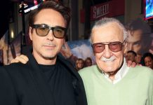 Robert Downey Jr pays tribute to Stan Lee