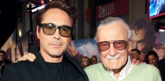 Robert Downey Jr pays tribute to Stan Lee
