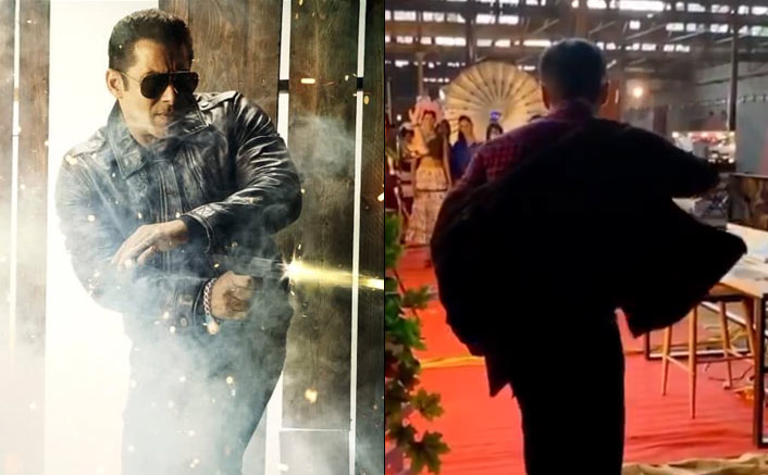 Salman Khan Makes A Swagger Entry On Sets Of Radhe: Your Most Wanted Bhai As Shooting Begins