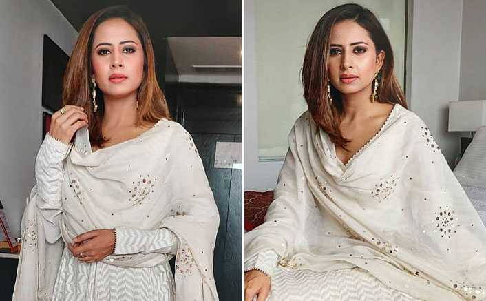Sargun Mehta's Off White Suit Can Be Your Next Sangeet Outfit