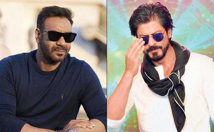 "Shah Rukh Khan To Ajay Devgn On Doing 100 Films: ""From Striding Atop Two Motorcycles At The Same Time, You've Come A Long Long Way"""