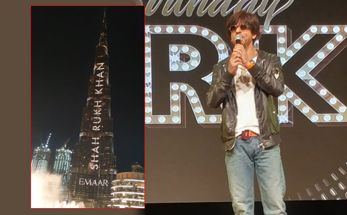 Shah Rukh Khan Recieves A GRAND Burj Khalifa Style Wish From Dubai!