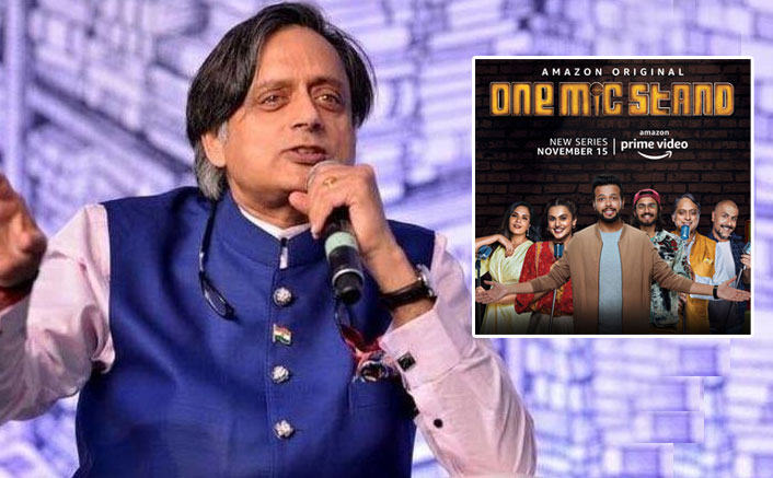Shashi Tharoor Becomes The First Indian Politician To Do Stand-up Comedy For Amazon Prime's New Show