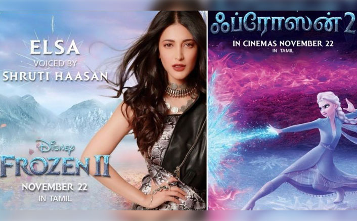 WOAH! Shruti Haasan To Lend Her Voice For Tamil Version Of 'Frozen 2' As Elsa