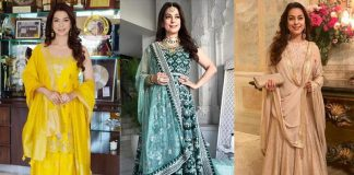 Steal These 3 Outfits From Birthday Girl Juhi Chawla For A Wedding Outfit