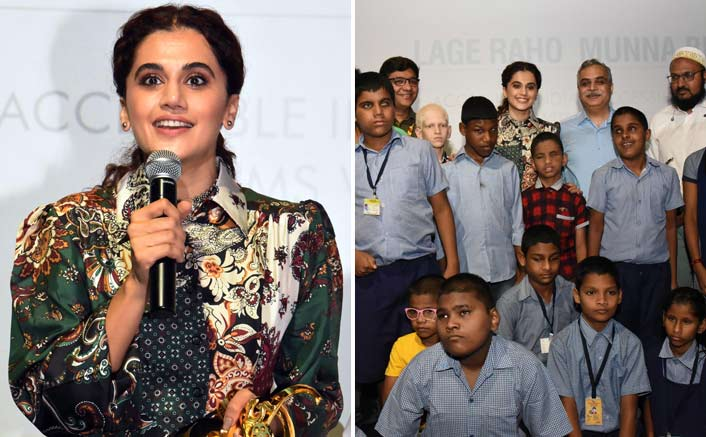 Taapsee Pannu was at IFFI where she spoke about her journey and launched Accessible India Section
