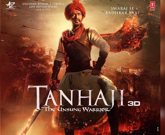 Tanhaji: The Unsung Warrior – Akshay Kumar Shares The New Poster & Wishes Ajay Devgn Lots Of Love