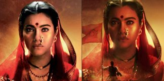 Tanhaji: The Unsung Warrior Poster: Kajol's Intense Look and Fierce Eyes Are Fascinating