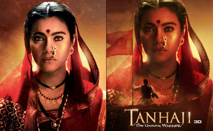 Tanhaji: The Unsung Warrior: Kajol's Fierce Eyes Intrigues Us Further To Witness The Big War